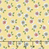 Mon Beau Jardin - Blossom Yellow Yardage