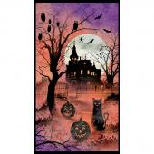 Frightful Night - Haunted House Multi Panel