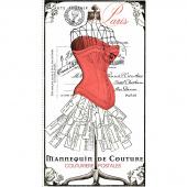 Couturiere Parisienne - Paris Postales Panel