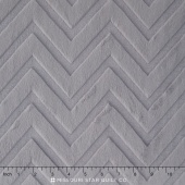 "Cuddle Embossed Chevron - Silver 60"" Minky Yardage"