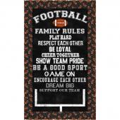 Football Family Rules Kit