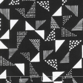 Black & White - Just Right Black Yardage
