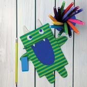 Cut Sew Create - Monster Zipper Pouch Kit