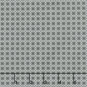 Bloomington - Mini Latice Charcoal Yardage