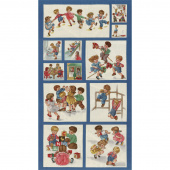 Play All Day - Kids Blue Panel
