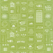 The Christmas Card - Cards Green Yardage