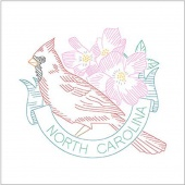 Birds of Liberty - North Carolina Digitally Printed Panel