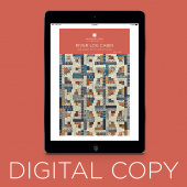 Digital Download - River Log Cabin Quilt Pattern by Missouri Star