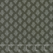 Urban Farmhouse Gatherings - Lacey Flower Tractor Oil Grey Yardage