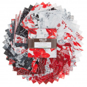 Holiday Flourish 11 Silver Metallic Charm Pack