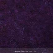 Malam Batiks IV - Water Coral Bells Plum Yardage