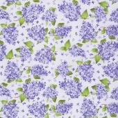 Elizabeth - Lilacs Lilac Yardage