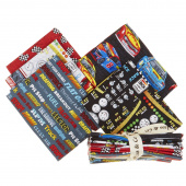Start Your Engines 5 Easy Pieces Fat Quarter Bundle