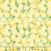 Just Lemons - Packed Lemons Yellow Yardage