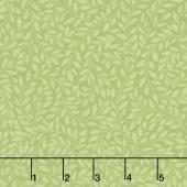 Alphonse Mucha - Leaves Sweet Pea Digitally Printed Yardage