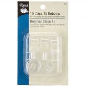 Plastic Bobbins - Class 15 (Bonus pack - 10 ct)