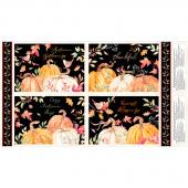 Autumn Day - Pumpkin Placemat Multi Panel