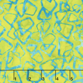 Artisan Batiks - Retro Metro Geometric Lime Yardage