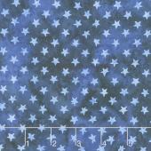 Freedom 2 Batiks - Stars French Blue Yardage