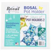 "Bosal Pot Holder Precut 10"" x 10"" Insulated Batting"