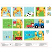 """Huggable & Lovable Books - """"Mommy and Me"""" Multi Book Panel"""