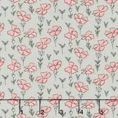 Sweet Stems - Garden Gray Yardage
