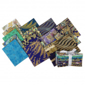 Treasures of Alexandria Jewel Metallic Fat Quarter Bundle