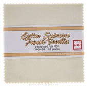 Cotton Supreme Solids French Vanilla Charm Pack