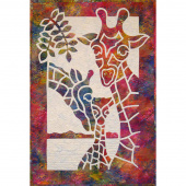 Giraffe Family Pattern