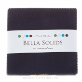 Bella Solids Navy Charm Pack