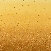Ombre Confetti - Mustard Metallic Yardage