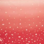 Ombre Bloom - Cherry Yardage