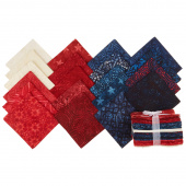 Tonga Treats Batiks - Patriots Fat Quarter Bundle