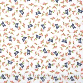 Kewpie Love - Bird Cream Yardage