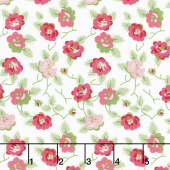 Granny Chic - Dishes Pink Yardage