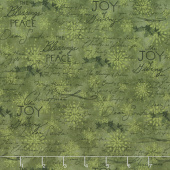 The Joy of Giving - Script Green Yardage
