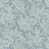 Regency Sussex - Arundel Circa 1800 Oval Room Blue Yardage