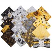 A Bee's Life Fat Quarter Crystals