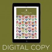 Digital Download - Totally Tulips Quilt Pattern by MSQC