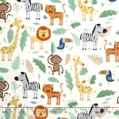 Baby Jungle - Scenic Multi Yardage