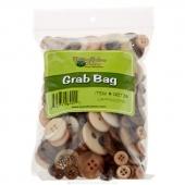 Button Grab Bag - Cappuccino