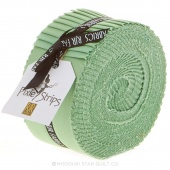 Cotton Supreme Solids Nile Green Pixie Strips