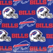 NFL - Buffalo Bills Cotton Yardage