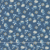 Something Blue - Something Borrowed Delft Yardage