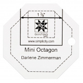 EZ Quilting Jelly Roll Ruler - Mini Octagon