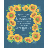 Solana - Sunflower Horizon Digitally Printed Panel