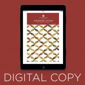 Digital Download - Sunshine Lattice Quilt Pattern by Missouri Star