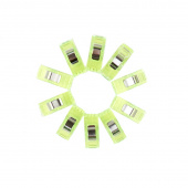Wonder Clips - Neon Green 50 Count