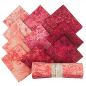 Stonehenge Gradations Brights - Hibiscus Rolls (Fat Quarter Bundle)