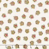 Little Red Riding Hood - Baskets Ivory Yardage